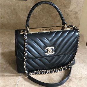 Authentic Chanel trendy CC Small chevron 🚫 trade